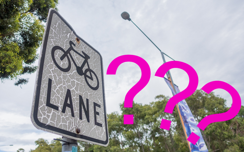 What is a bike lane in NSW?