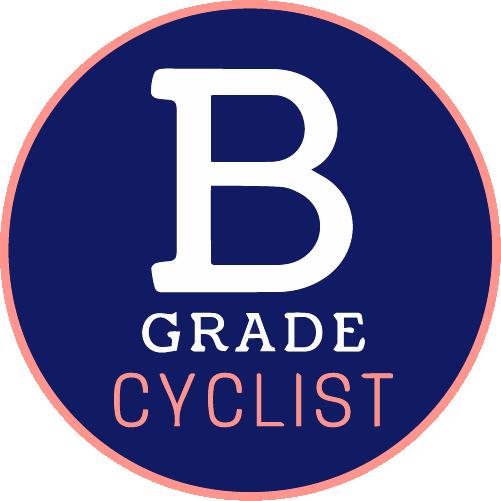 B Grade Cyclist logo